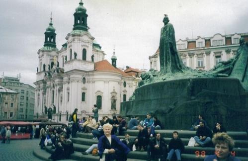 E - Prague Town Square