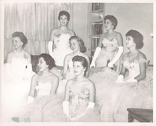 Girls Booster Club Officers '59-'60