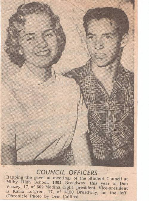 Student Council Officers, 1960