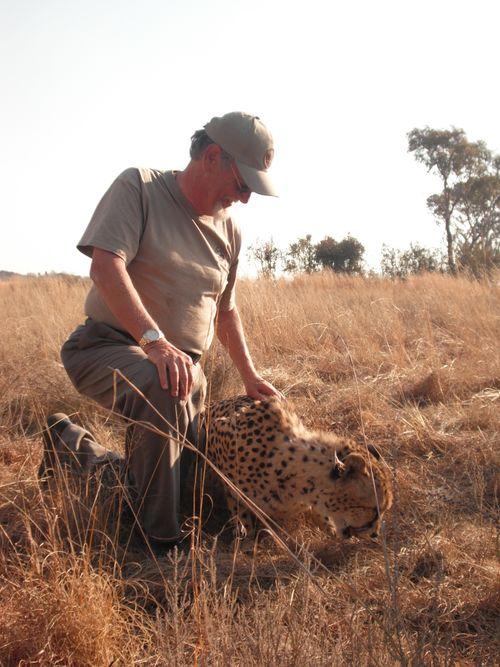 O) Glen Langston in South Africa